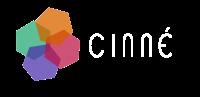 Logo cinné COLOR+BLANCO